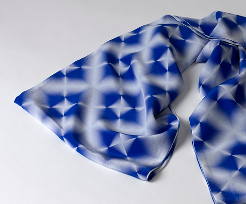 Digital Shibori by Melanie Bowles